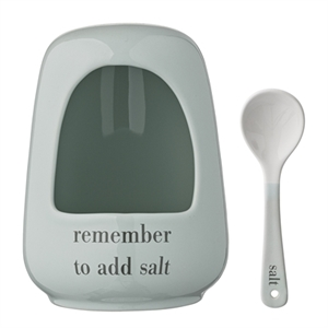 "Saltkar ""Remember to add salt"""