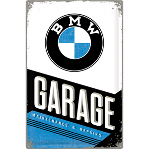 Retro Skilt 40x60cm  - BMW Garage
