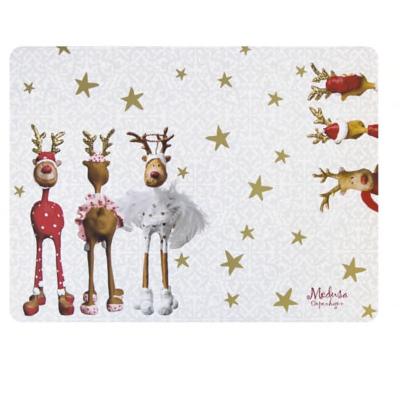 Fantastisk Rudolf - Dækkeservietter i kork fra Medusa YG12