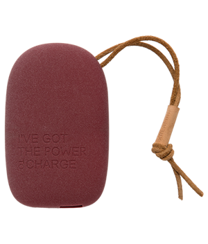 Kreafunk powerbank - Plum edition