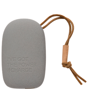 Kreafunk powerbank - Silent Grey