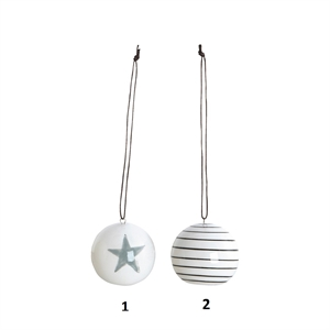 Ornaments, Stripes or Star